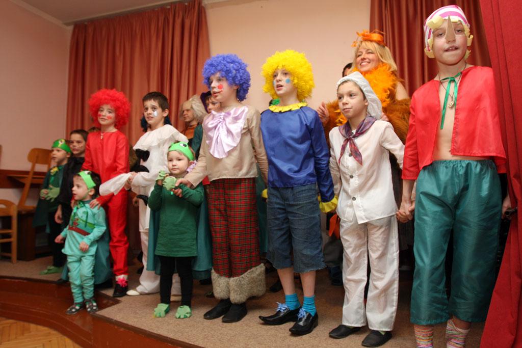 Музыкальный спектакль «Приключения Буратино»