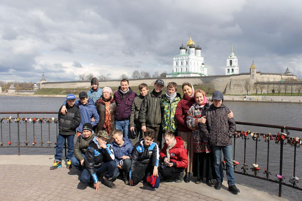 Светлая Неделя на Псковской земле