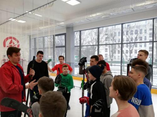 Мастер-класс по хоккею