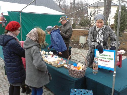 Благотворительная Пасхальная ярмарка 2015