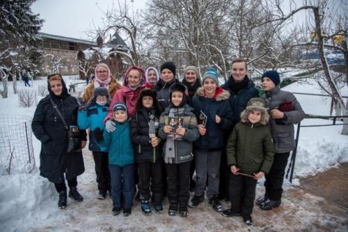 Рождество в Псково-Печерском монастыре