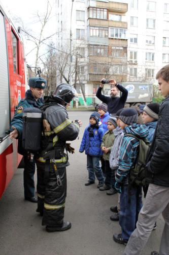 Экскурсия в Пожарную часть № 3
