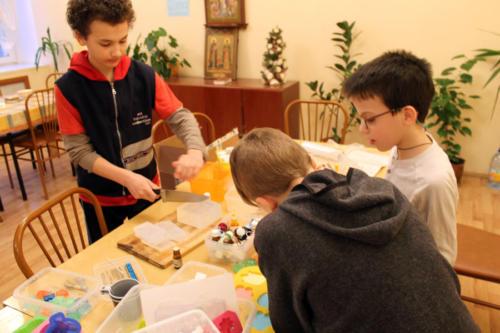 Подготовка к Пасхальной ярмарке