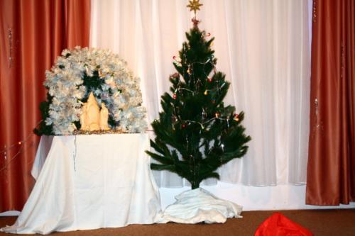 Рождественский концерт в Павлине
