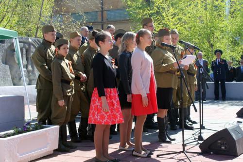 Поздравление ветеранов завода Авангард