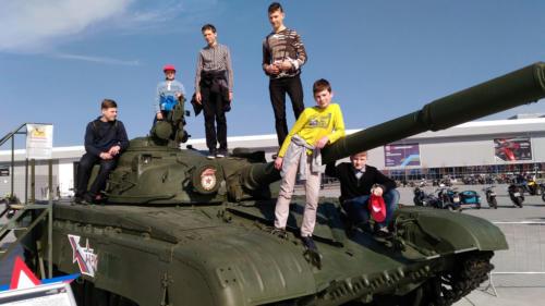 Фестиваль «Мотоармия» — Военная техника