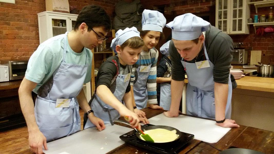 Детская кулинарная студия – Ева