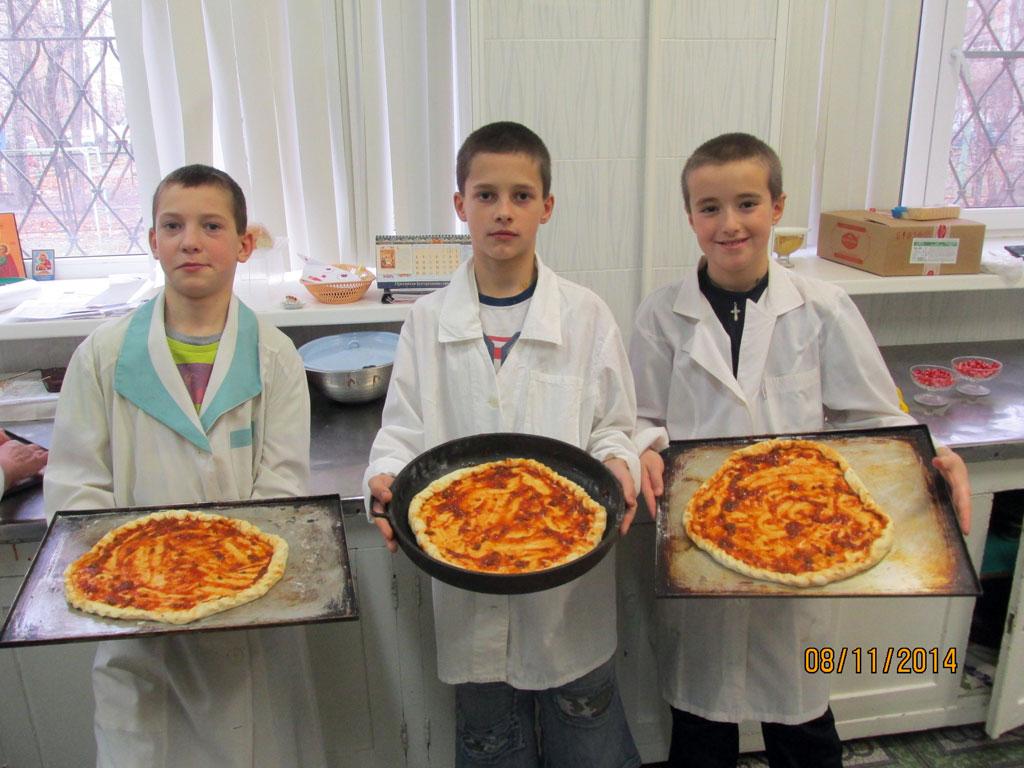 Как мы пиццу делали!