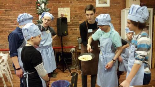 Детская кулинарная студия