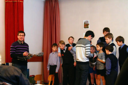 Поздравление именинников в феврале 2013