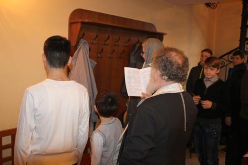 Крещение Серафима (Марата)