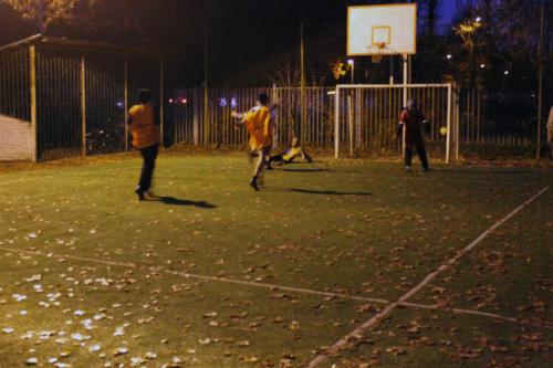 Футбольный матч с Дмитровской гимназией