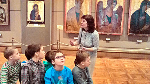 Посещение Третьяковской галереи-2