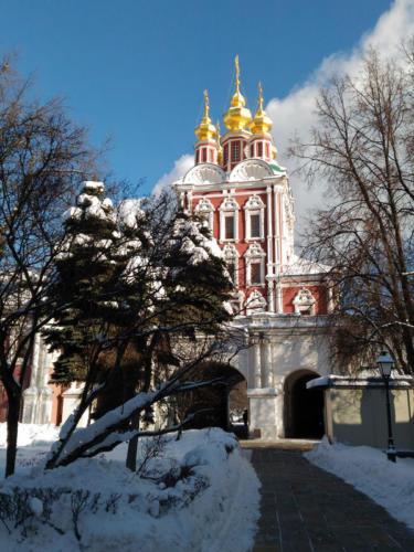 Экскурсия в Новодевичьем монастыре